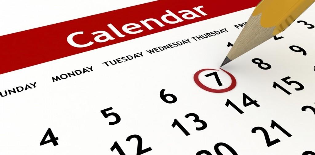 Календар на обученията