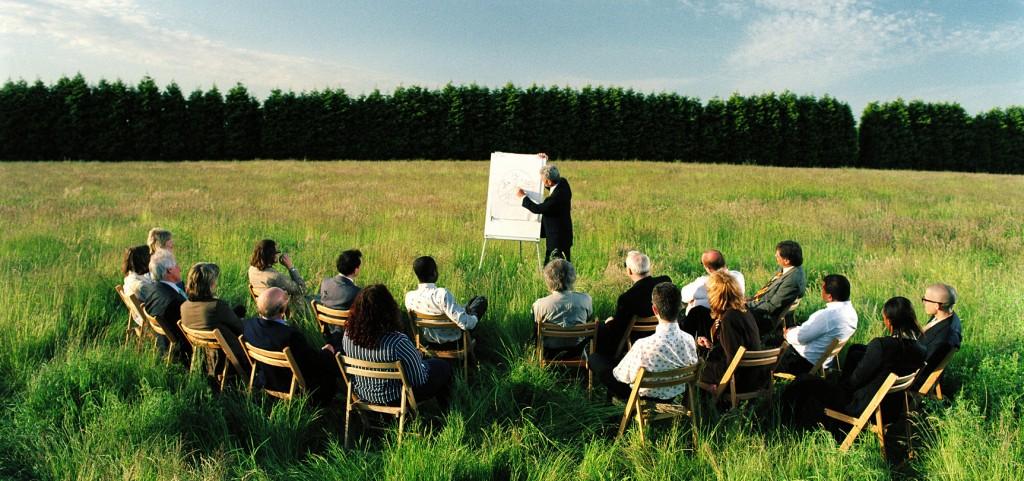 бизнес презентации сред природата