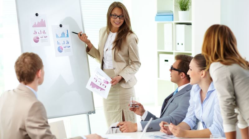 презентация пред мениджмънта